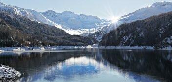 Погода в Швейцарии в январе